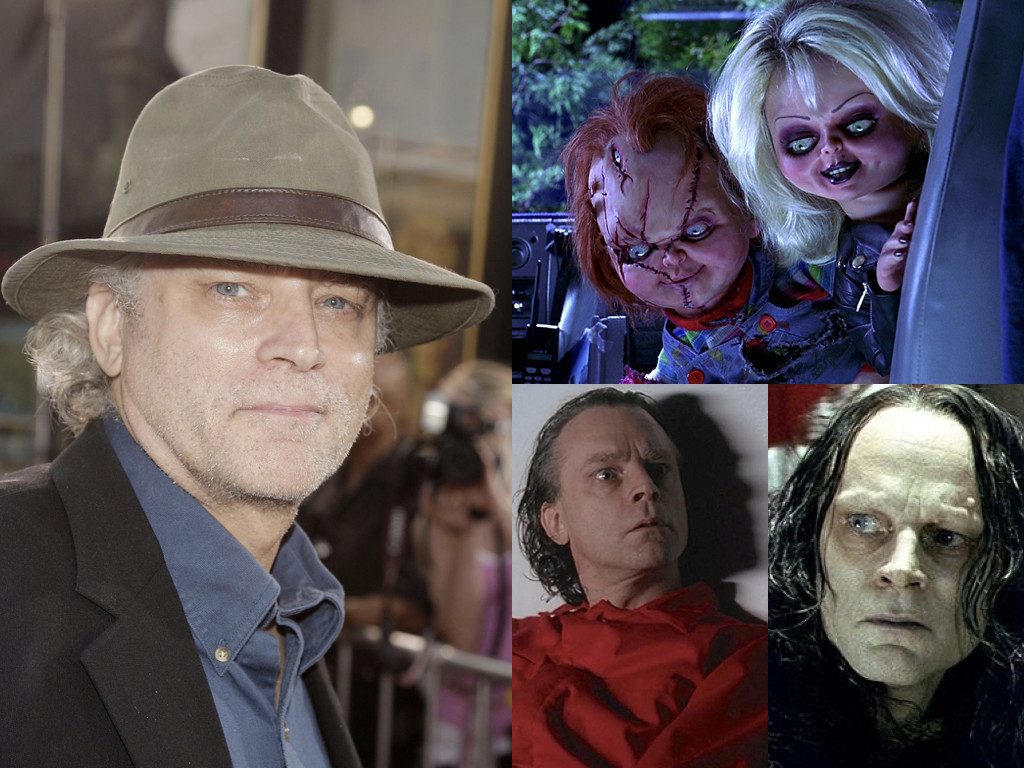 Любимият му филм от поредицата за Чъки е Bride of Chucky 1998 / като осъдения на смърт Лутър Лий Богс в The X-files 1993-/ като Грима Змийския език в The Lord of the Rings: The Two Towers 2002
