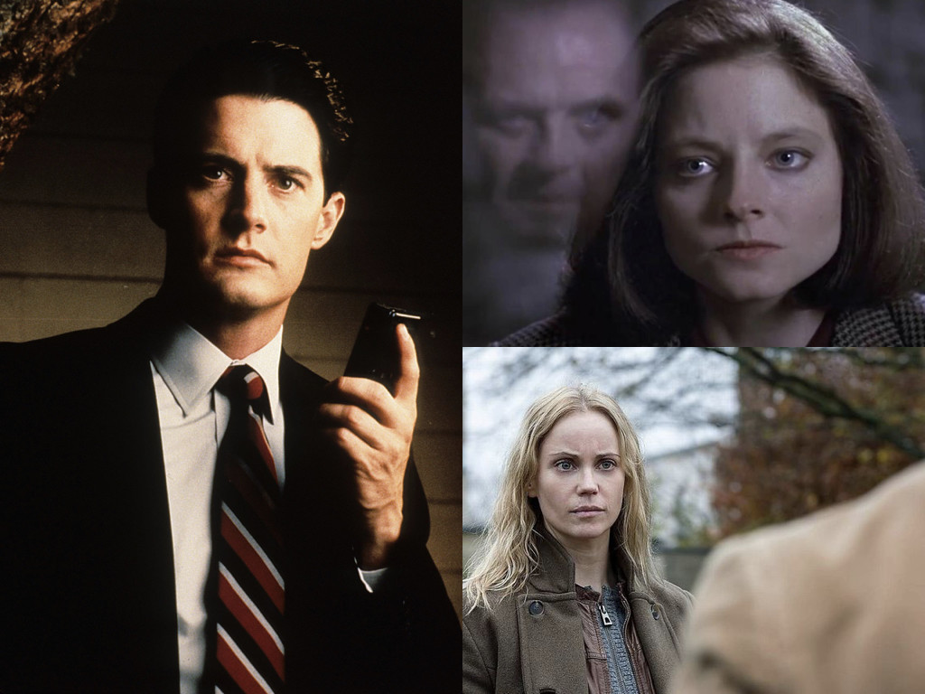 Twin Peaks 1990-1991 / The Silence of the Lambs 1991 / The Bridge 2011