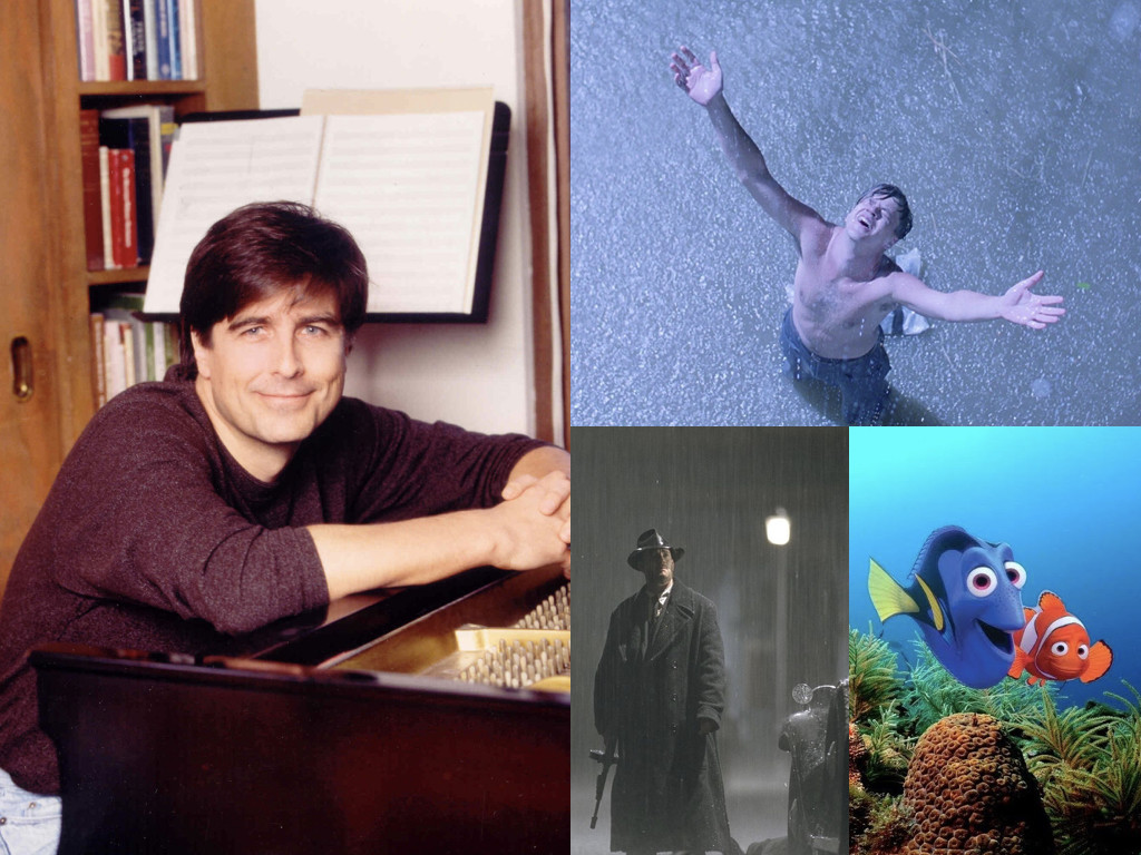 Томас Нюман е композитор на The Shawshank Redemption 1994 / Road to Perdition 2002 / Finding Nemo 2003