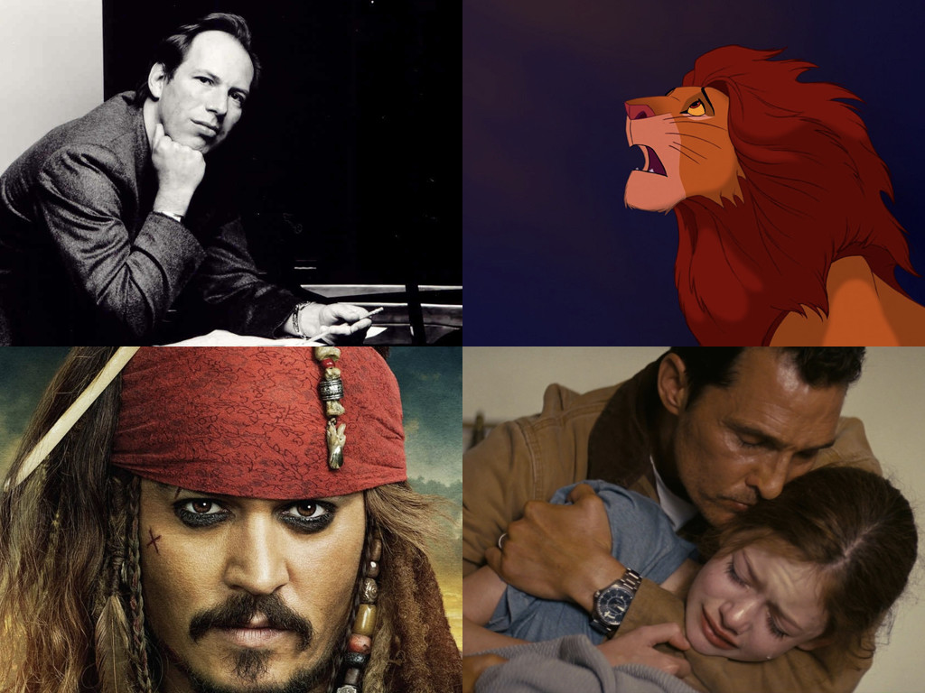 Ханс Цимер е композитор на The Lion King 1994 / Pirates of the Caribbean: The Curse of the Black Pearl 2003 / Interstellar 2014
