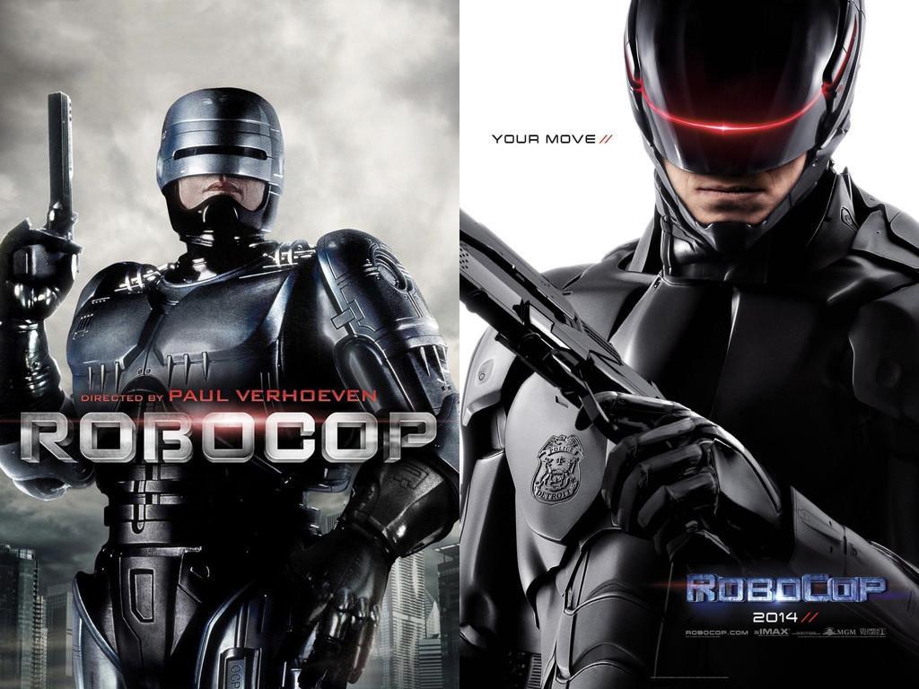 Оригиналният Робокоп и лъскавото му модерно копие - Robocop 1987 / Robocop 2014