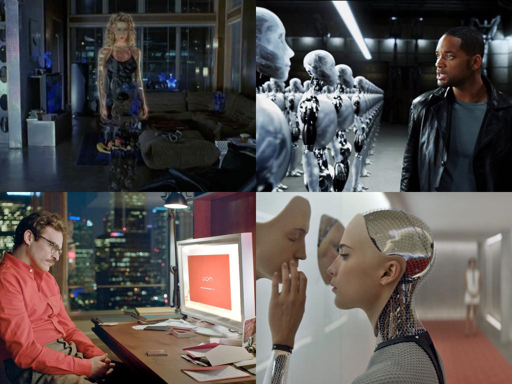 Въпроси, които са интерпретирани от фантастиката и през 21 век - The 6th Day 2003 / I, Robot 2004 / Her 2013 / Ex Machina 2014