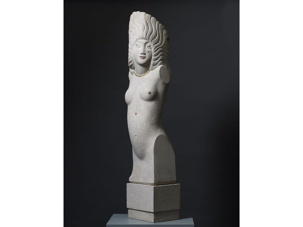 Eric Gill – Headdress, 1928