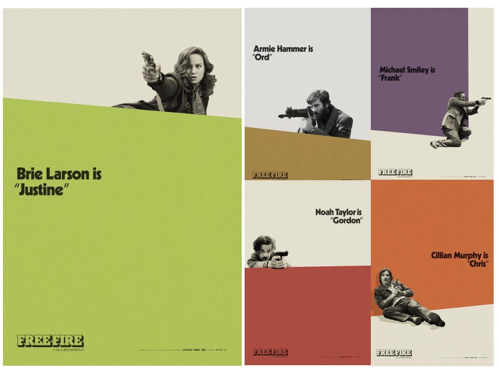 Серия характерови плакати