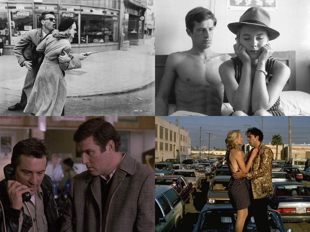 Gun Crazy 1950 / Breathless 1960 / Midnight Run 1988 / Wild At Heart 1990