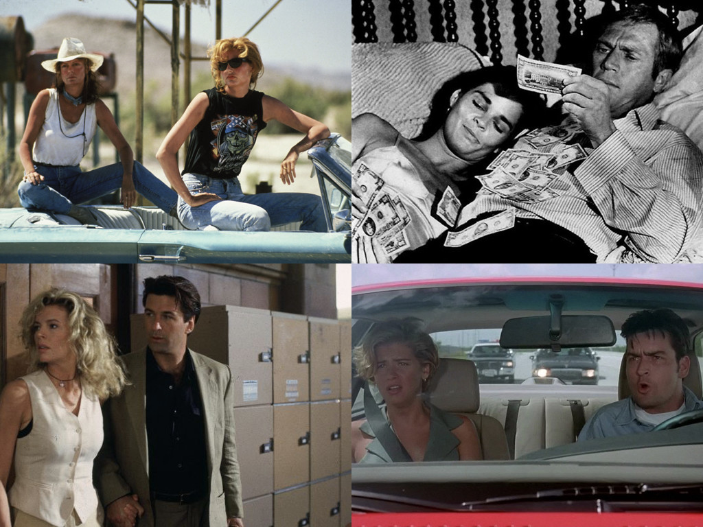Thelma & Louise 1991 / The Getaway 1972 / The Getaway 1994 / The Chase 1994