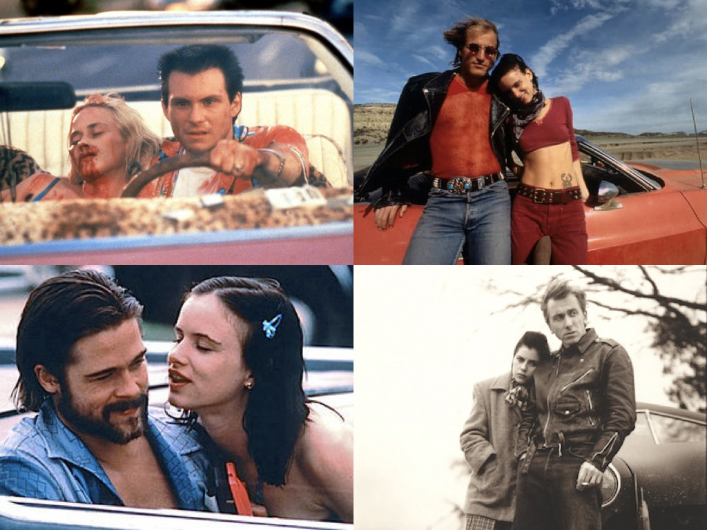 True Romance 1993 / Natural Born Killers 1994 / Kalifornia 1993 / Murder in the Heartland 1993