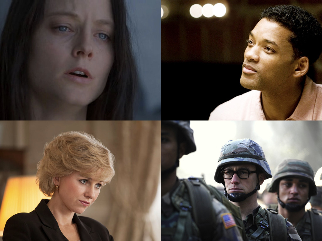 Nell 1994 / Seven Pounds 2008 / Diana 2013 / Snowden 2016