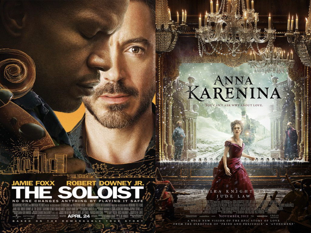 The Soloist 2009 / Anna Karenina 2012