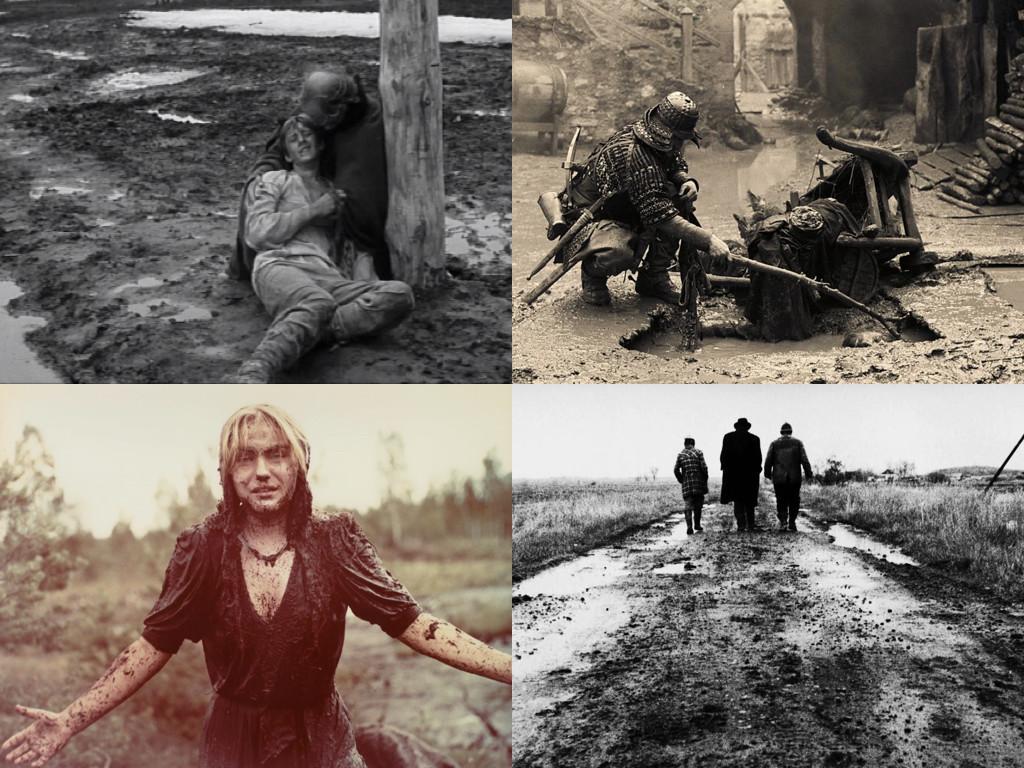 Калта като метафора – Андрей Рублёв 1966 / Трудно быть богом 2013 / Иди и смотри 1985 / Satantango 1994