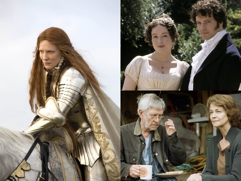 Elizabeth: The Golden Age 2007 / Pride and Prejudice 1995 / 45 Years 2015