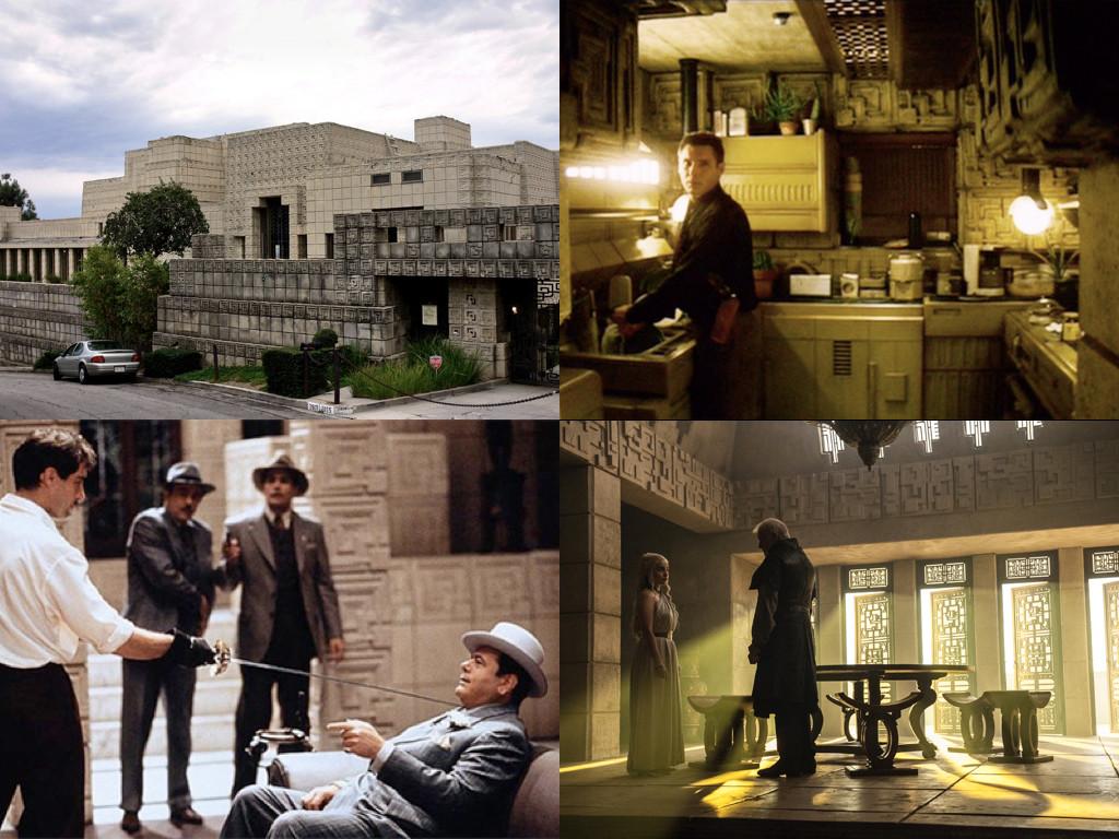Къщата на семейство Енис / Blade Runner 1982 / The Rocketeer 1991 / Game of Thrones 2011-