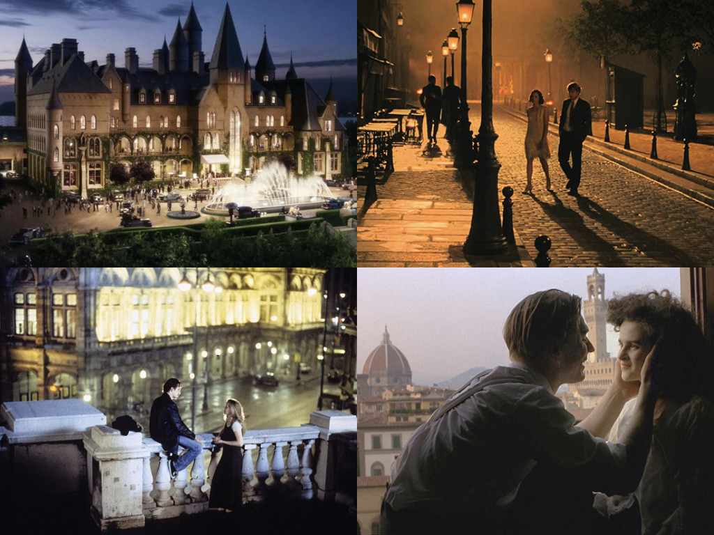 The Great Gatsby 2013 / Midnight in Paris 2011 / Before Sunrise 1995 / A Room with a View 1985