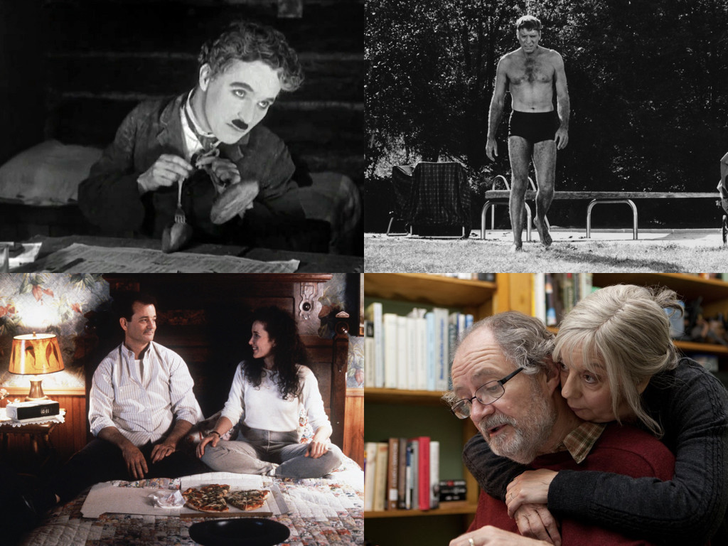 The Gold Rush 1925 / The Swimmer 1968 / Groundhog Day 1993 / Another Year 2010