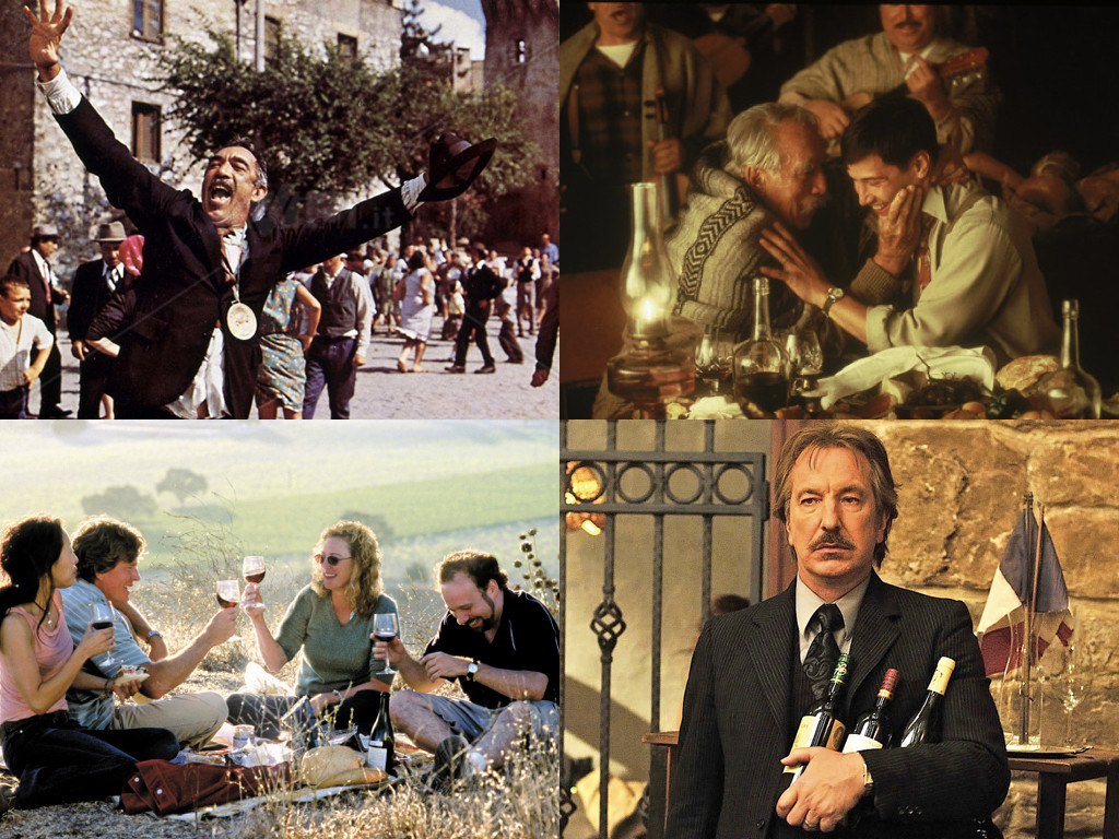 The Secret of Santa Vittoria 1969 / A Walk in the Clouds 1996 / Sideways 2004 / Bottle Shock 2008