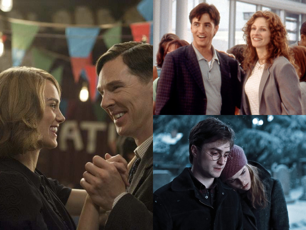 The Imitation Game 2014 / My Best Friend's Wedding 1997 / Harry Potter and the Deathly Hallows 2010