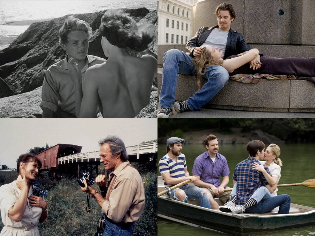 Summer with Monika 1953 / Before Sunrise 1995 / The Bridges of Madison County 1995 / Going the Distance 2010