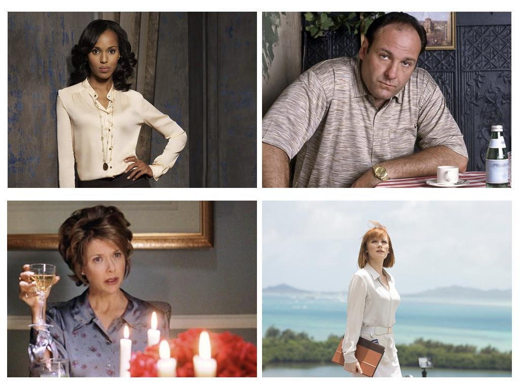 Характери тип-А: Scandal 2012-2018 / The Sopranos 1999-2007 / American Beauty 1999 / Jurassic World 2015