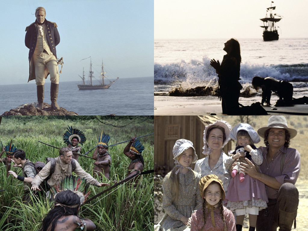 Master and Commander: The Far Side of the World 2003 / 1492: Conquest of Paradise 1992 / The Lost City of Z 2017 / Little House on the Prairie 1974-1983