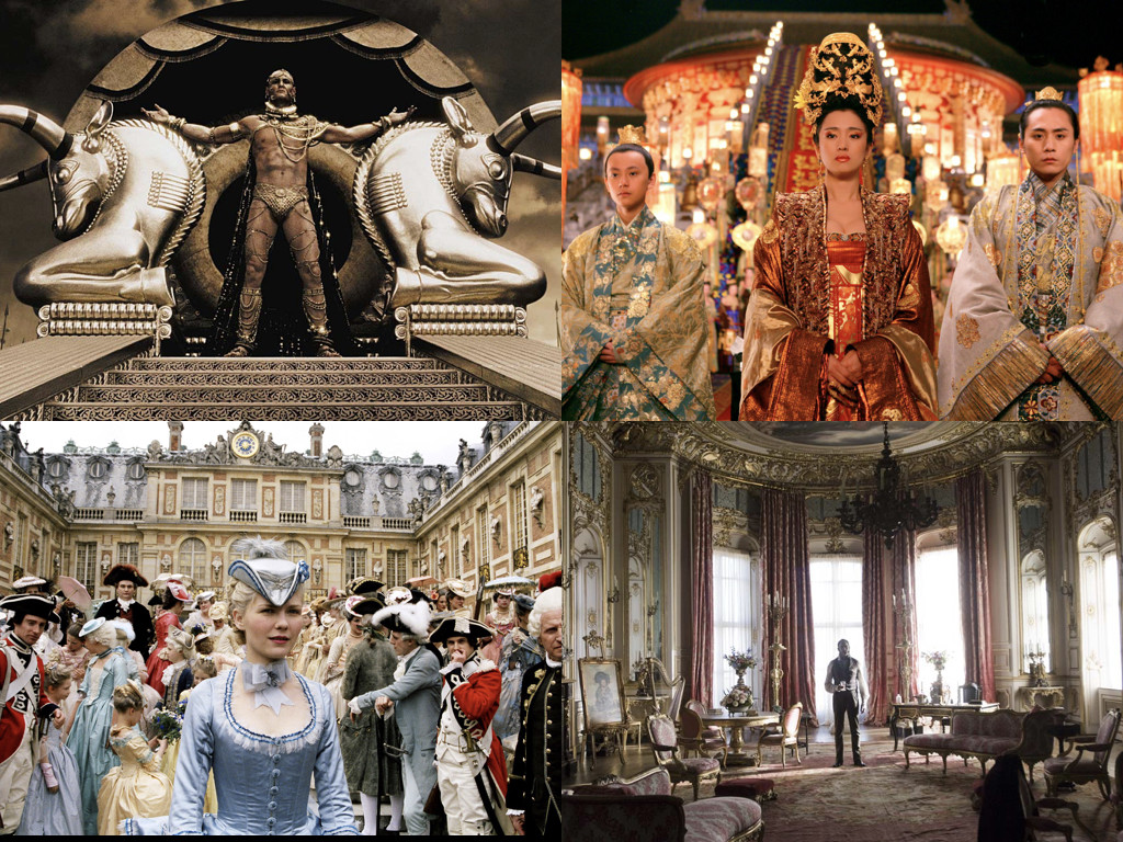 300 2006 / Curse of the Golden Flower 2006 / Marie Antoinette 2006 / The Young Victoria 2009