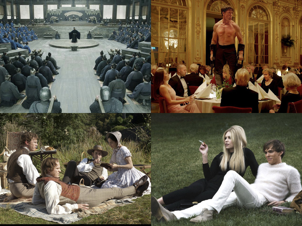 Confucius 2010 / The Square 2017 / Creation 2009 / A Single Man 2009