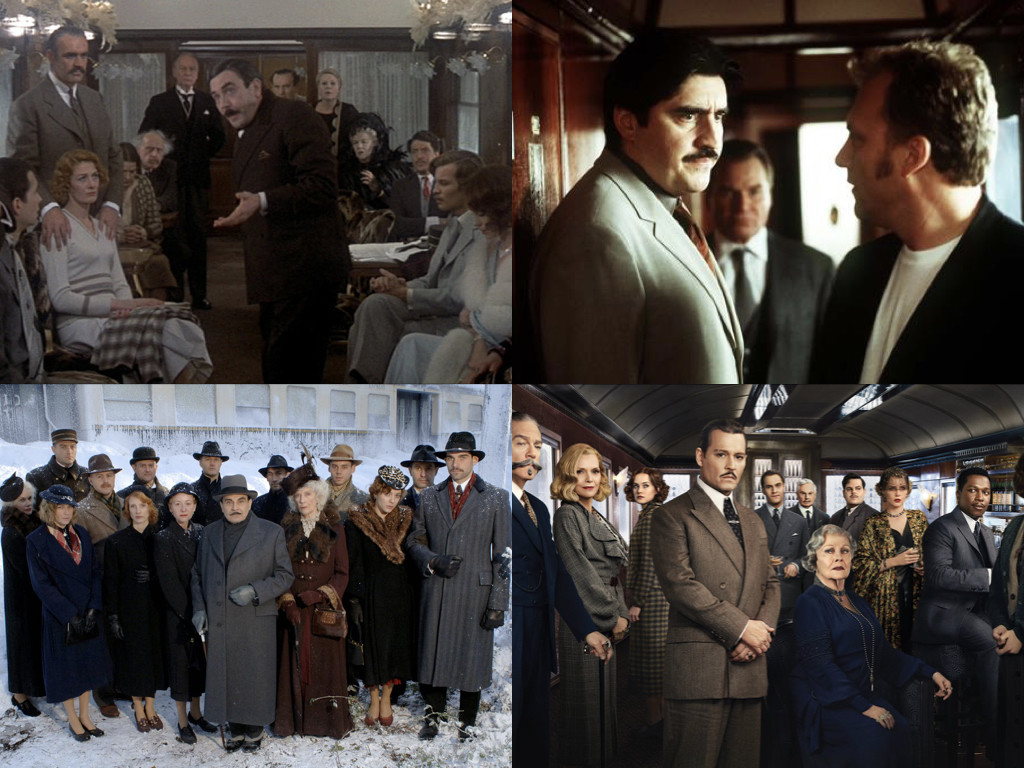 Murder on the Orient Express 1974 / 2001 / 2010 / 2017