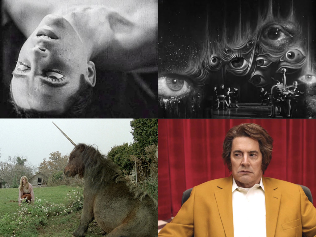 The Blood of the Poet 1930 / Spellbound 1945 / Black Moon 1975 / Twin Peaks 2017-