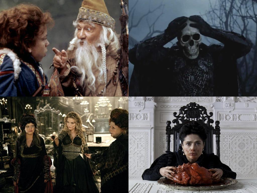 Willow 1988 / Sleepy Hollow 1999 / Stardust 2007 / Tale of Tales 2015