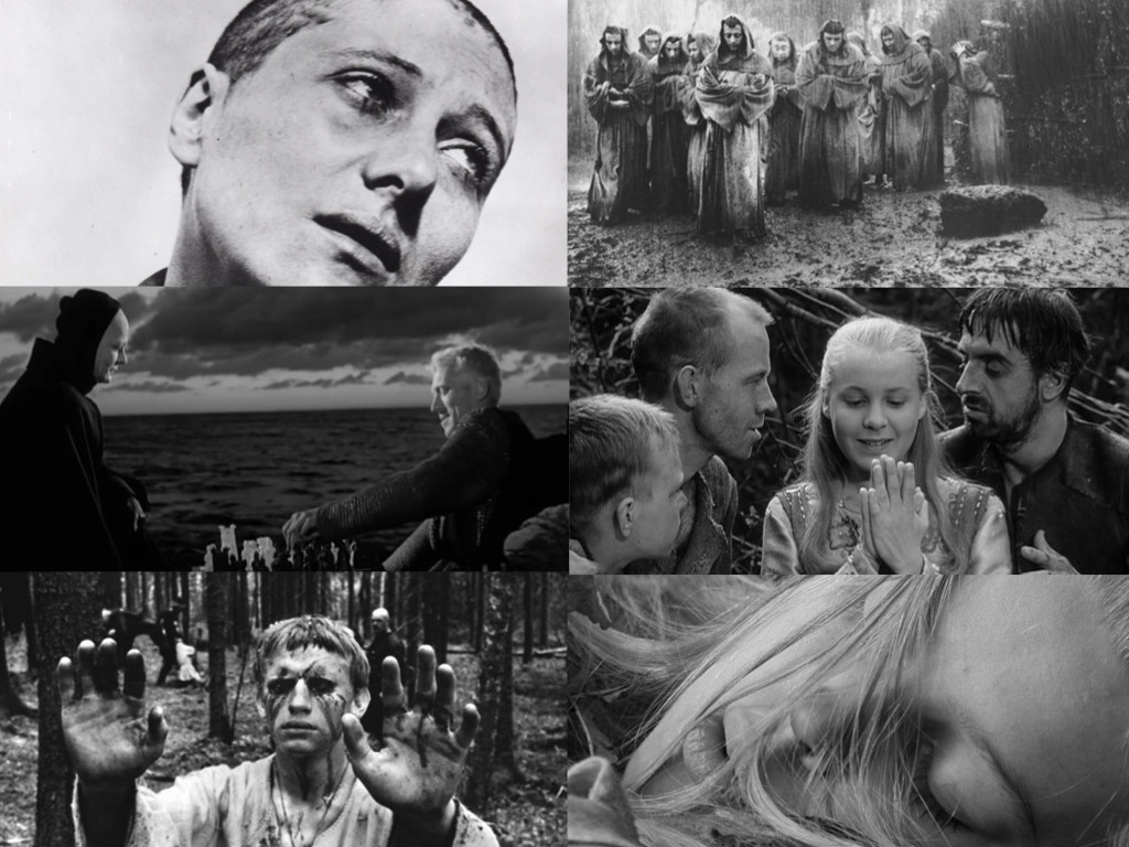 The Passion of Joan of Arc 1928 / The Flowers of St. Francis 1950 / The Seventh Seal 1957 / The Virgin Spring 1960 Андрей Рублёв 1966 / Marketa Lazarová 1967