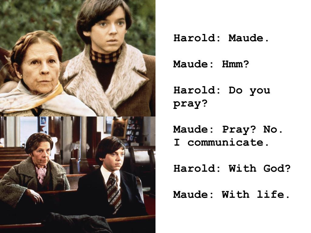 Harold and Maude 1971
