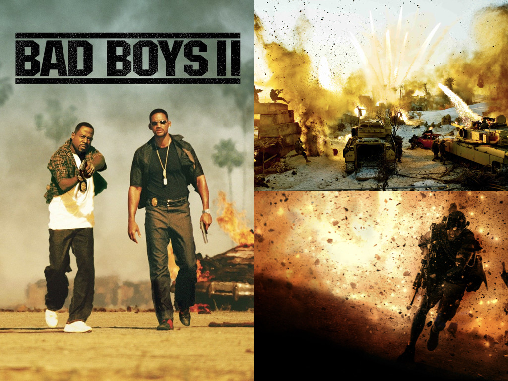 Bad Boys II 2003 / Transformers: Revenge of the Fallen 2009 / 13 Hours 2016