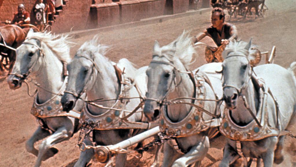 Ben-Hur 1959 - печели 11 награди Оскар