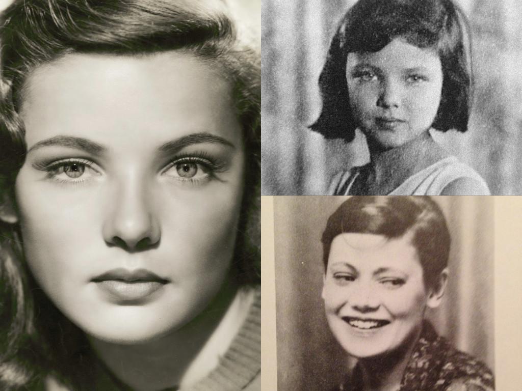 Под детската снимка на Тиърни е тази на майка й – Бел.