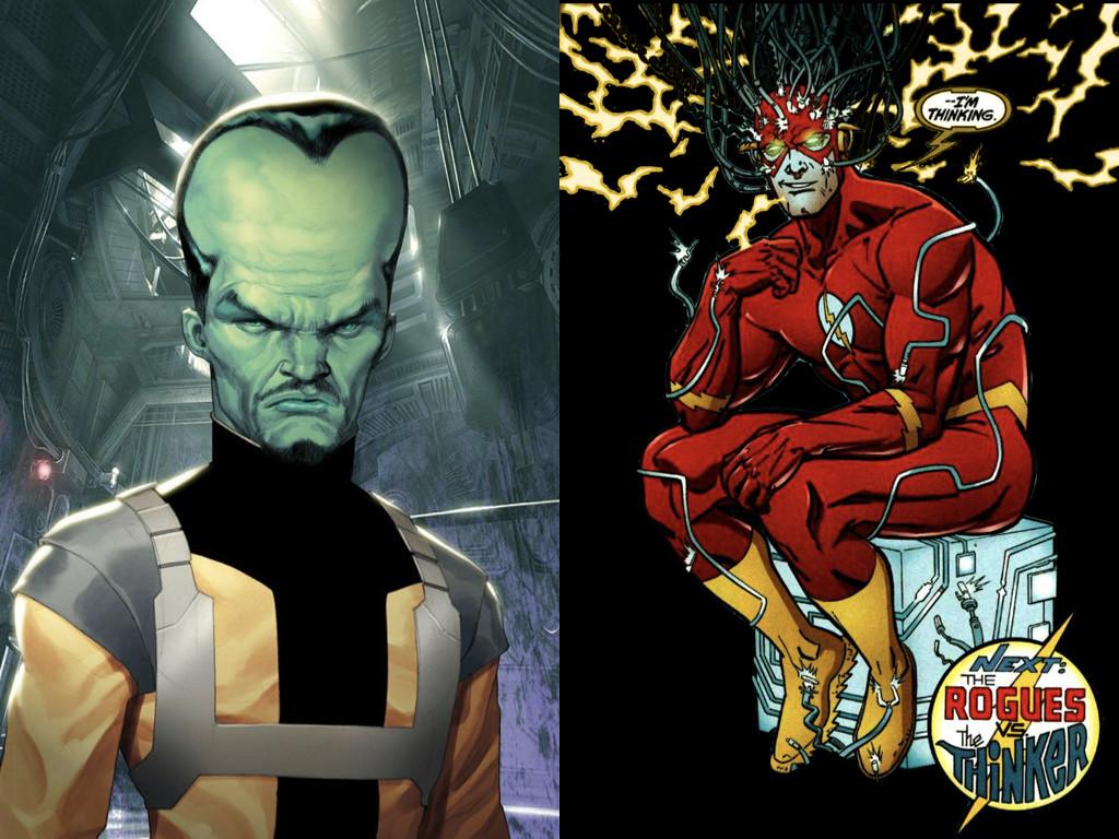 Самюъл Стърнс от вселената на Мarvel има феноменална памет / Светкавицата от комиксите на DC чете и запомня със скоростта на светлината