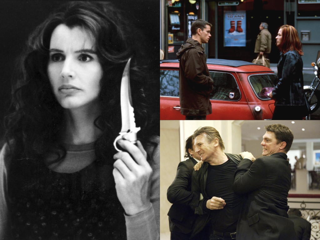 The Long Kiss Goodnight 1996 / The Bourne Identity 2002 / Unknown 2011