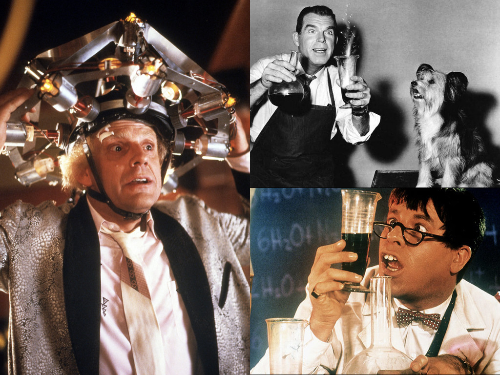 Back to the Future 1985 / The Absent-Minded Professor 1961 / The Nutty Professor 1963