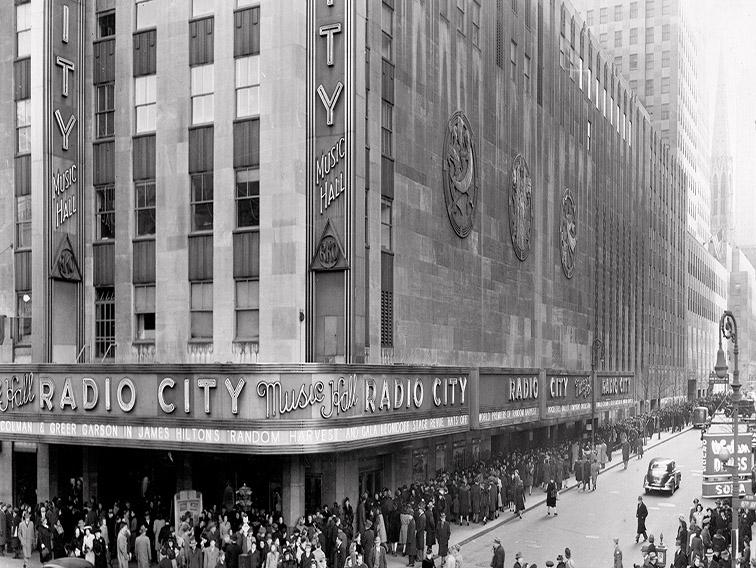 Radio City Music Hall, Ню Йорк