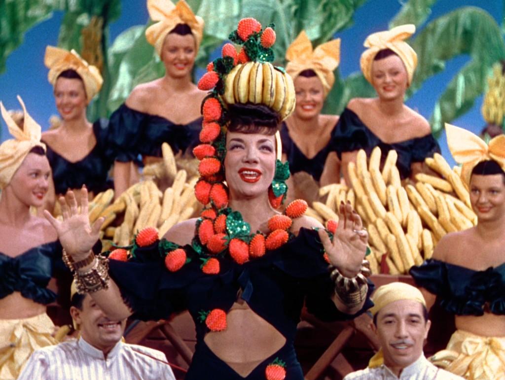 The Gang's All Here 1943 - Кармен Миранда е най-добре платената актриса в периода.