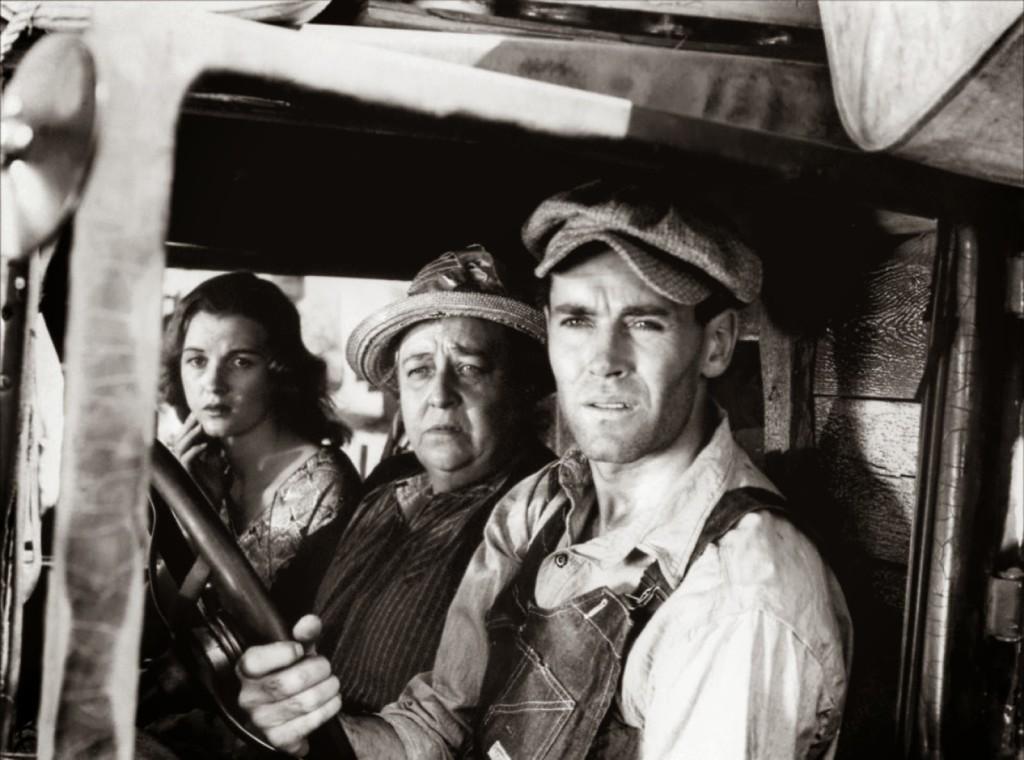 Хенри Фонда в The Grapes of Wrath 1940