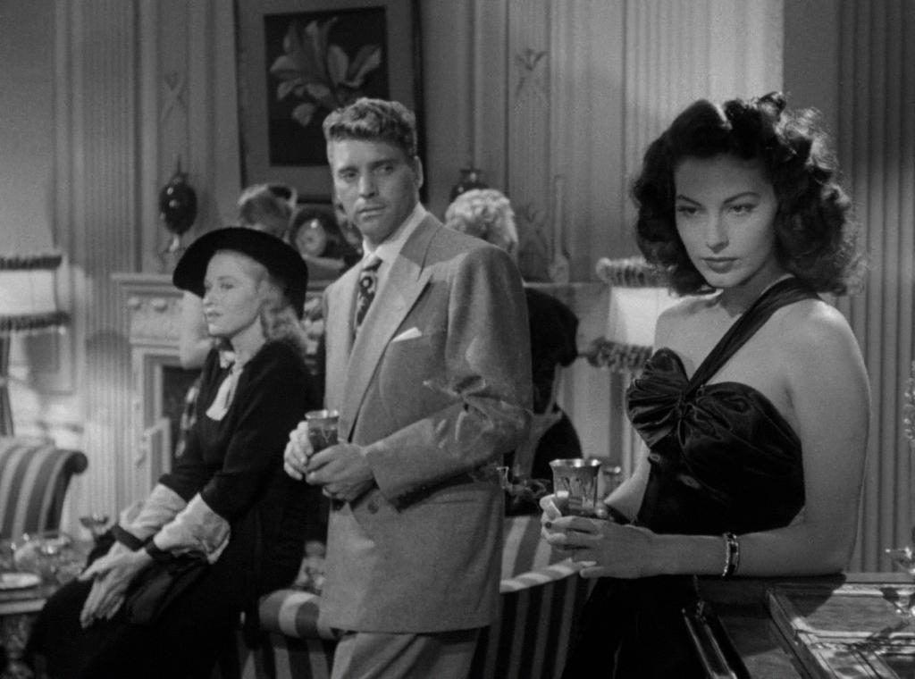 Бърт Ланкастър и Ава Гарднър в The Killers 1946