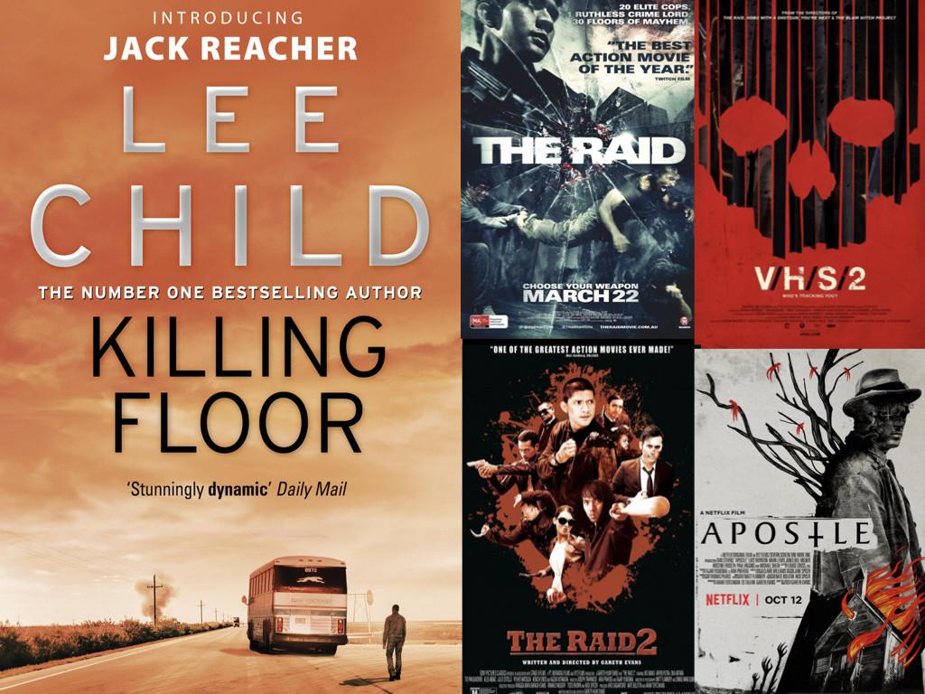 Корица на Killing Floor / Филми режисирани от Гарет Евънс