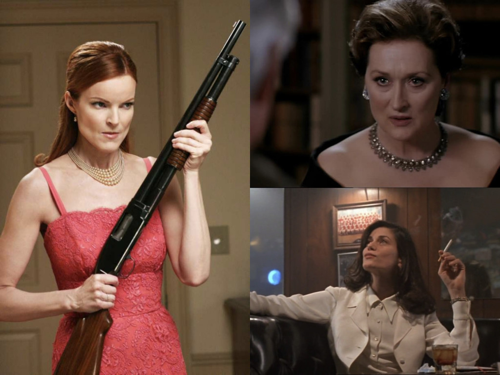 Desperate Housewives 2004-2012 / The Manchurian Candidate 2004 / The Last Seduction 1994