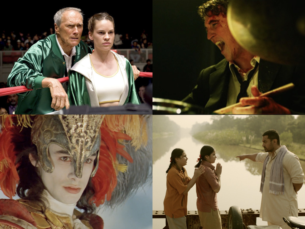 Million Dollar Baby 2004 / Whiplash 2014 / Farinelli 1994 / Dangal 2016